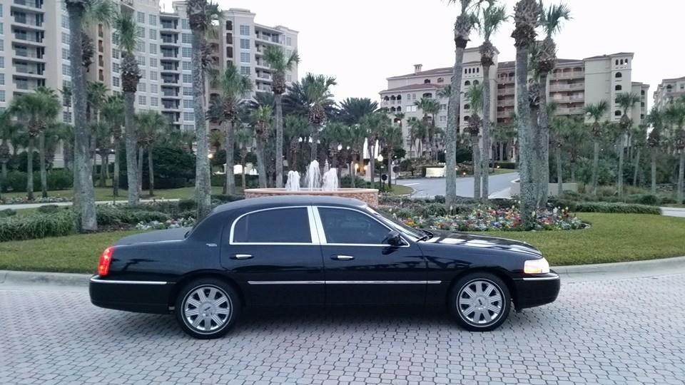 Lincoln Town Car Limo Service Daytona Beach